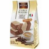 Oplatky s cappuccinovou krémovou náplní [Feiny Biscuits,125g]
