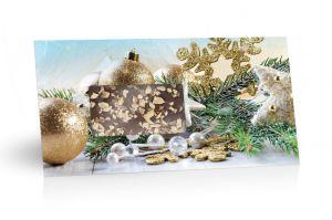 Mléčná čokoláda s mandlovým posypem - vánoční [Selllot,96g]