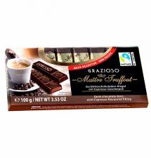 Čokoládové tyčky Grazia - Espresso [M.T., 100g]