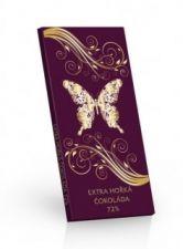 Hořká čokoláda 72% Motýl [Sweet&Snack,100g]