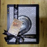 BOLCi dřevěná kazeta s oříšky v čokoládě stříbrná [Bolci,160g]