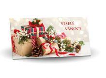 Hořká čokoláda 60% obálka dárečky [Selllot, 175g]