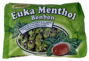 Eukalypto-mentolové bonbóny [Woogie, 250g]