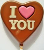 Srdíčko I LOVE YOU (25gx25ks)