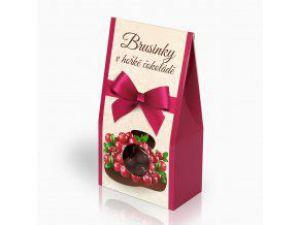 Brusinky v hořké čokoládě [Selllot,150g]