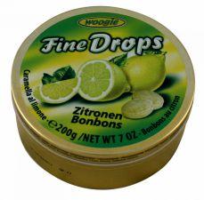 Bonbóny s citrónovou příchutí (plech) [Woogie, 200g]