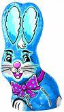 Čokoládový zajíc – modrý [Hauswirth,60g]