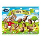 Velikonoční figurky z mléčné čokolády [Only, 100g]