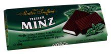 Jemná hořká čokoláda plněná mátovým krémem [M.T., 100g]