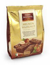 Sušenky s oříškovým krémem a kakaovou polevou [Feiny biscuits 200g]