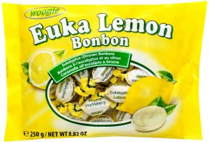 Eucalypto-citrónové bonbóny [ Woogie, 250g]