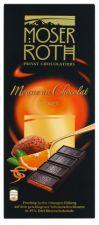 Hořká čokoláda s příchutí pomeranče (Mousse) [Moser Roth, 188g]