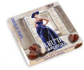 Belgické čokoládové pralinky - srdíčka [Starbrook,200g]