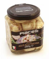 Toskánský česnek v bylinkovém oleji [Piacelli, 280g]