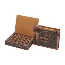 BOLCi dřevěná kazeta s oříšky v čokoládě [Bolci,160g]