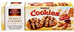 Sušenky s arašídy a čokoládou [Feiny Biscuits, 150g]