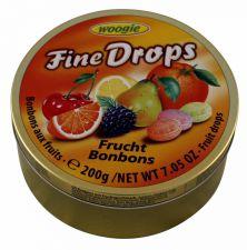 Bonbóny s ovocnou příchutí (plech) [Woogie, 200g]
