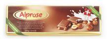Mléčná čokoláda s celými oříšky [Alprose, 300g]