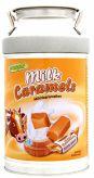 Mléčné karamely metalová konev (kasička)  [Woogie,250g]