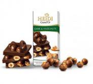 Heidi hořká čokoláda s lískovými ořechy [Heidi,100g]