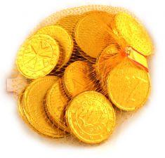 Čokoládové mince (síťka) [Only, 100g]