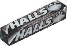 HALLS Extra strong 33,5g mentolový drops