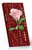 Mléčná čokoláda Růže – Love [Sweet&Snack, 100g]