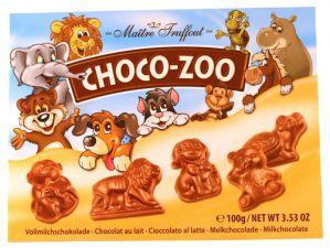 Mléčná čokoláda - ZOO [M.T., 100g]