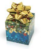 Hořké čokoládové pralinky s jahodovou, lískooříškovou a smetanovou příchutí zlatá mašle [Selllot, 220g]