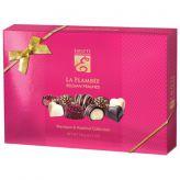 Směs plněných čokoládových bonbonů s marcipánovou a lískooříškovou náplní [Emoti, 191g]