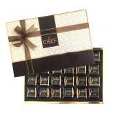 BOLCI CHIEF Směs z mléčné a hořké čokolády s taškou Madlen box [Bolci, 468g]