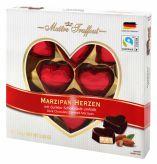 Marcipáová srdce v hořké čokoládě [M.T., 110g]