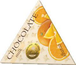 Trojúhelník - orange milk 50g