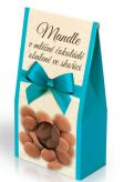 Mandle v mléčné čokoládě obalené ve skořici [Selllot,150g]