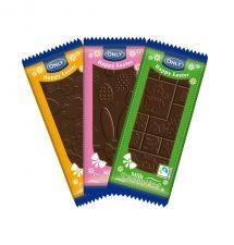 Mléčná čokoláda s velikonočním motivem [ONLY, 100g]