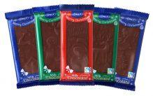 Mléčná čokoláda s vánočním motivem [ONLY, 100g]