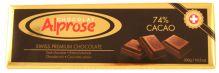 Hořká švýcarská čokoláda 74% [Alprose, 300g]
