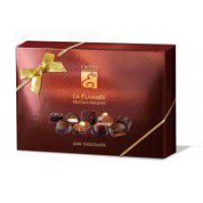 Emoti La Flambée - směs pralinek z hořké čokolády [Emoti,115g]