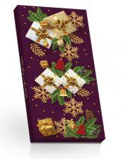 Hořká čokoláda ve vánočním obalu (dárečky) [Selllot, 100g]