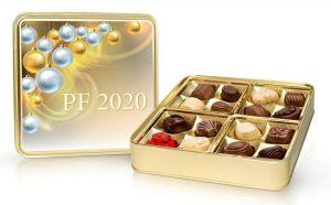 Belgické pralinky v plechu PF 2020 [Selllot, 200g]