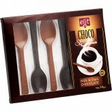 Lžičky z hořké a mléčné čokolády [Elit, 54g]