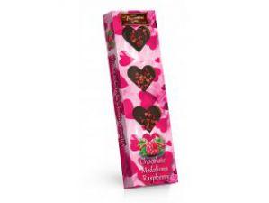 Hořké čokoládové medailonky s malinami [Sweet&Snack,60g]