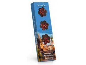 Hořké čokoládové medailonky s malinami Praha [Sweet&Snack,60g]