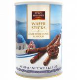 Vaflové trubičky s krémovou náplní z hořké čokolády [Feiny Biscuits, 400g]