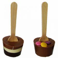 Horká čokoláda – mléčná s lentilkami [T-Severka, 35g]