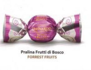 Čokoládové pralinky lesní ovoce [Monardo,1000g]